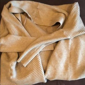 Zara Sweaters - Zara camel color open soft sweater size Small